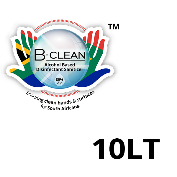 10LT B-Clean Hand and Surface Disinfectant Sanitizers